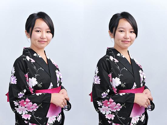 左:sRGB 右:Japan Color 2001 Coated